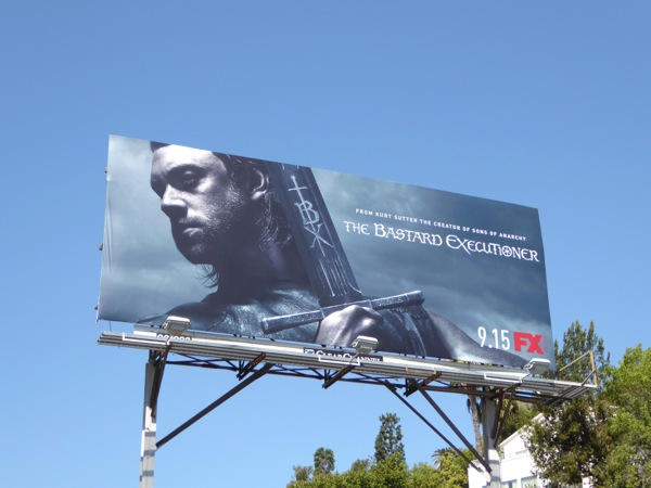 The Bastard Executioner series premiere billboard