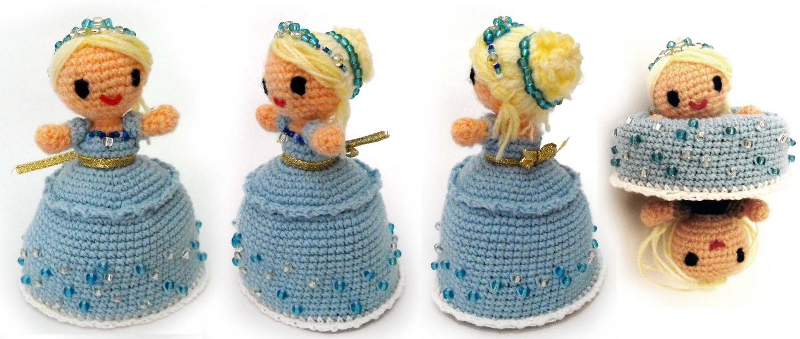 Patrones para hacer muñecas amigurumi (3) | DulcesAmigus
