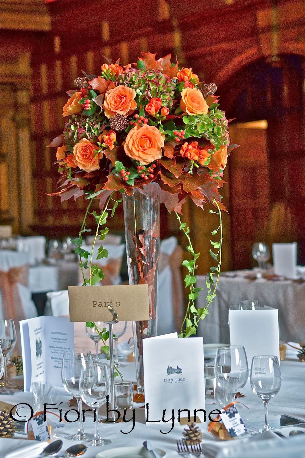 Wedding Flowers Blog: October 2013