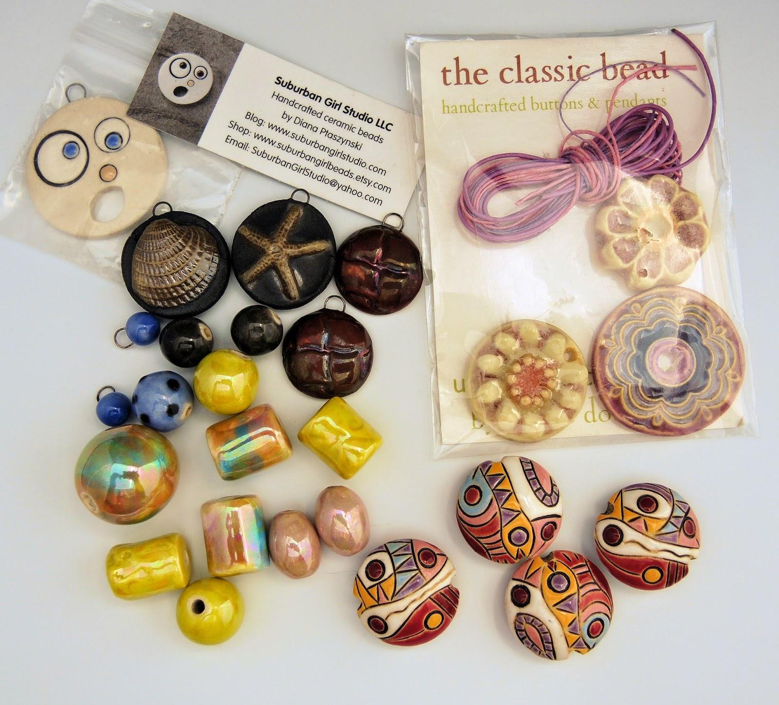 Beads by Golem Studio, Beada Hendrix, Classic Bead and Suburban Girl