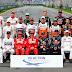 Piloto da F1 desmaia após corrida !!!