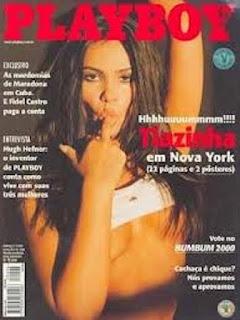 Suzana Alves - Total de exemplares vendidos: 828.627 - Mês da publicação: março/2000 Nesta época, Tiazinha já não trabalhava mais no H, da Band. A modelo e atriz já tinha seu próprio programa na emissora, As Aventuras de Tiazinha. Tratava-se de uma série em que Suzana interpretava uma justiceira sedutora enfrentando bandidos para proteger sua cidade.