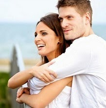 Cute couple, happy relationship