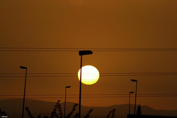 Ocaso en clave de sol