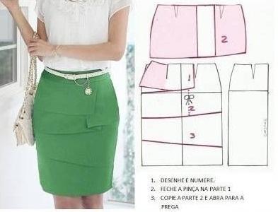 Как сшить оригинальную юбку своими руками 49