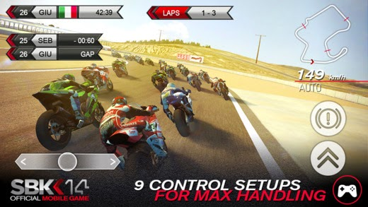 SBK14 Gameplay IOS / Android