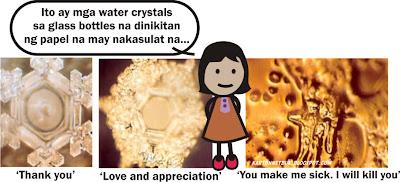 water crystals tagalog