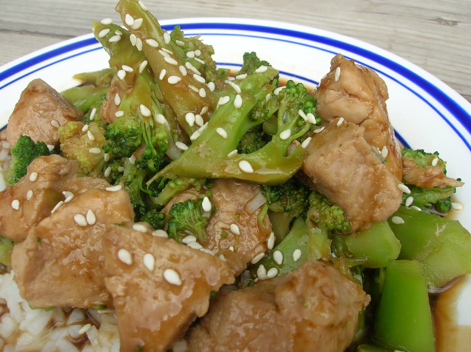 Baked korean bbq chicken and broccoli six sisters stuff forumfinder Image collections