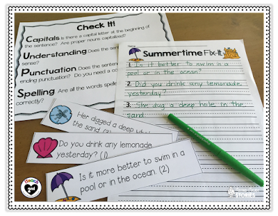 https://www.teacherspayteachers.com/Product/Summertime-Fix-It-an-editing-activity-690989