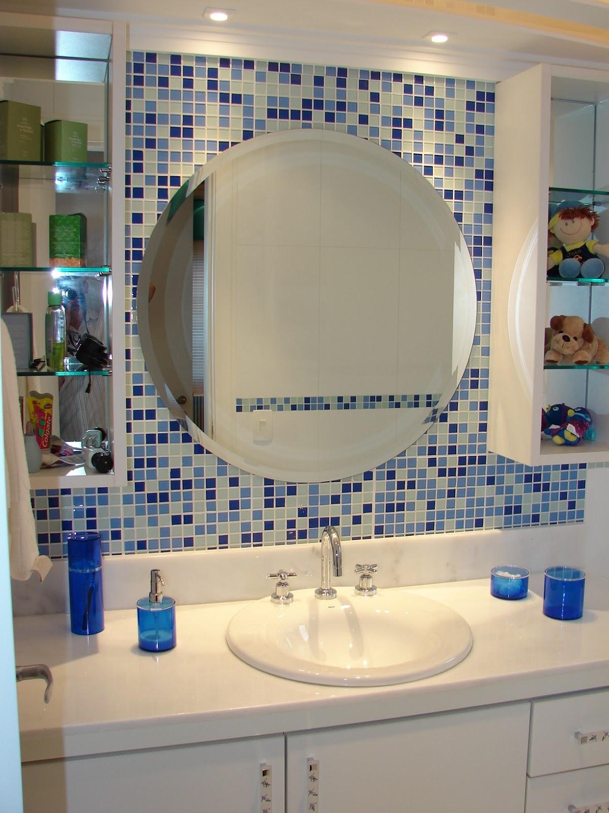 Decoração Com Pastilhas de Vidro Cantinho da Sonia #263868 1200x1600 Banheiro Azul Pastilha