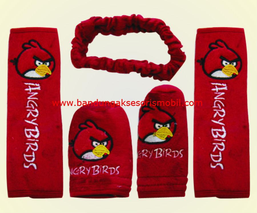Safety Pad Angry Bird Paket Merah