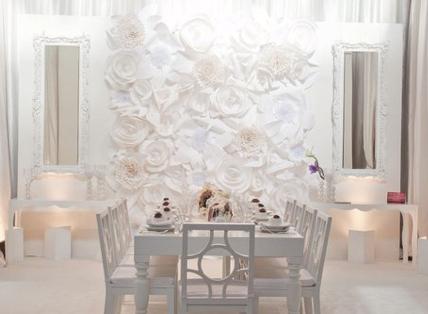 no nails wedding reception decorations