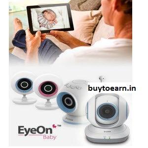 Flipkart ; Buy Baby Monitors upto 64% off + 10% off on Rs. 1499 from Rs. 2835 only