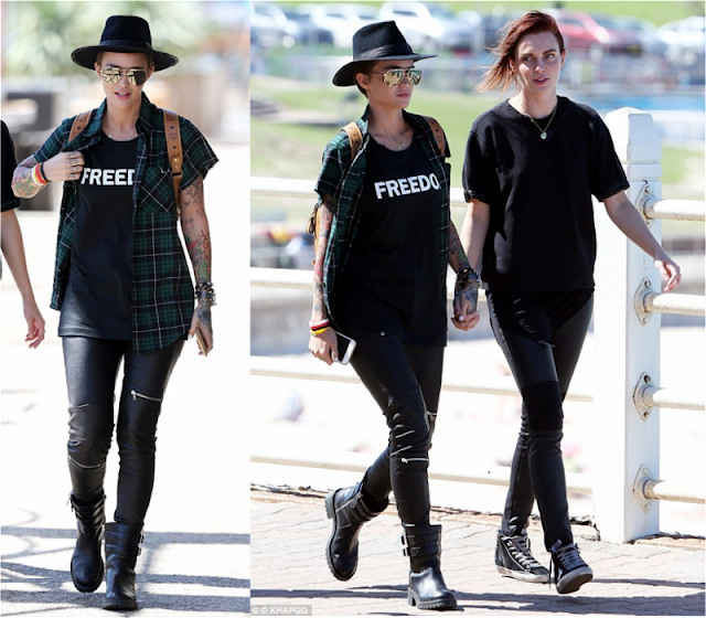 Ruby Rose in Australia