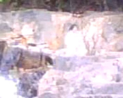Hantu wanita Jepun di air terjun Pinasungkulan