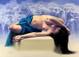 Chicas Coreanas Desnudas Pinturas Artisticas
