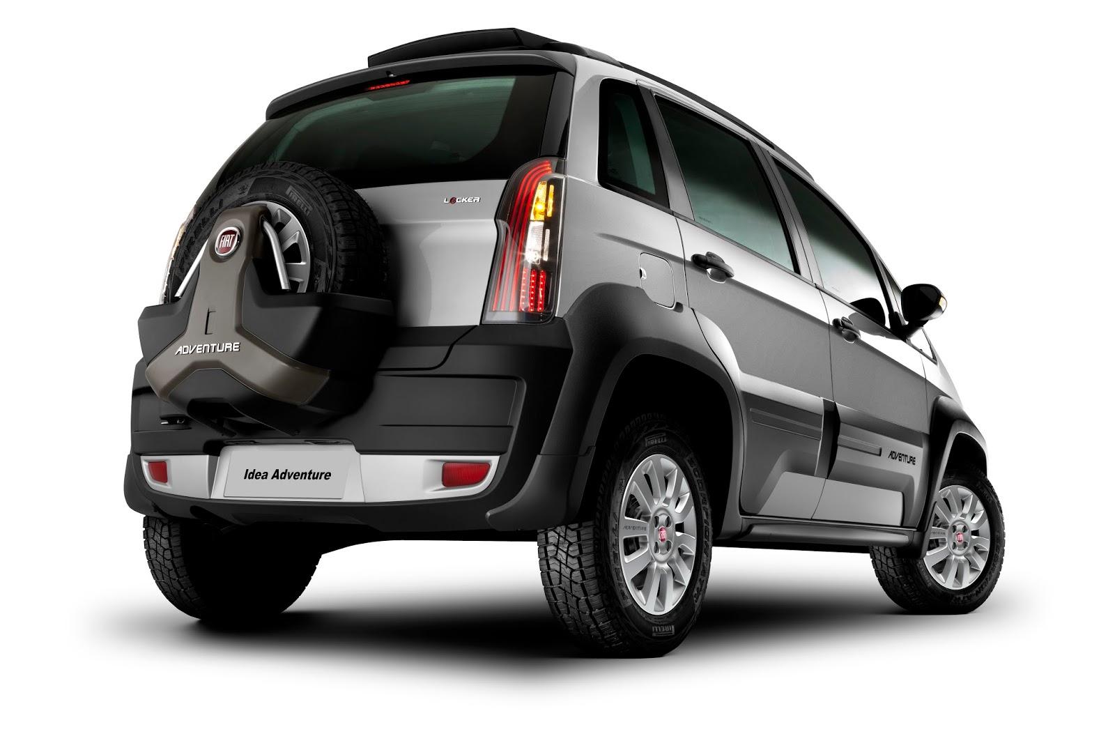 Blog do jornalista arnaldo moreira o mundo sobre rodas for Fiat idea adventure pack top