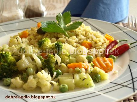 Zeleninová pochúťka - recepty