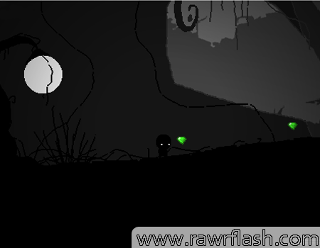 Jogos de plataforma: Zo Donker jogo em flash estilo LIMBO. Jogar jogos de zo donker