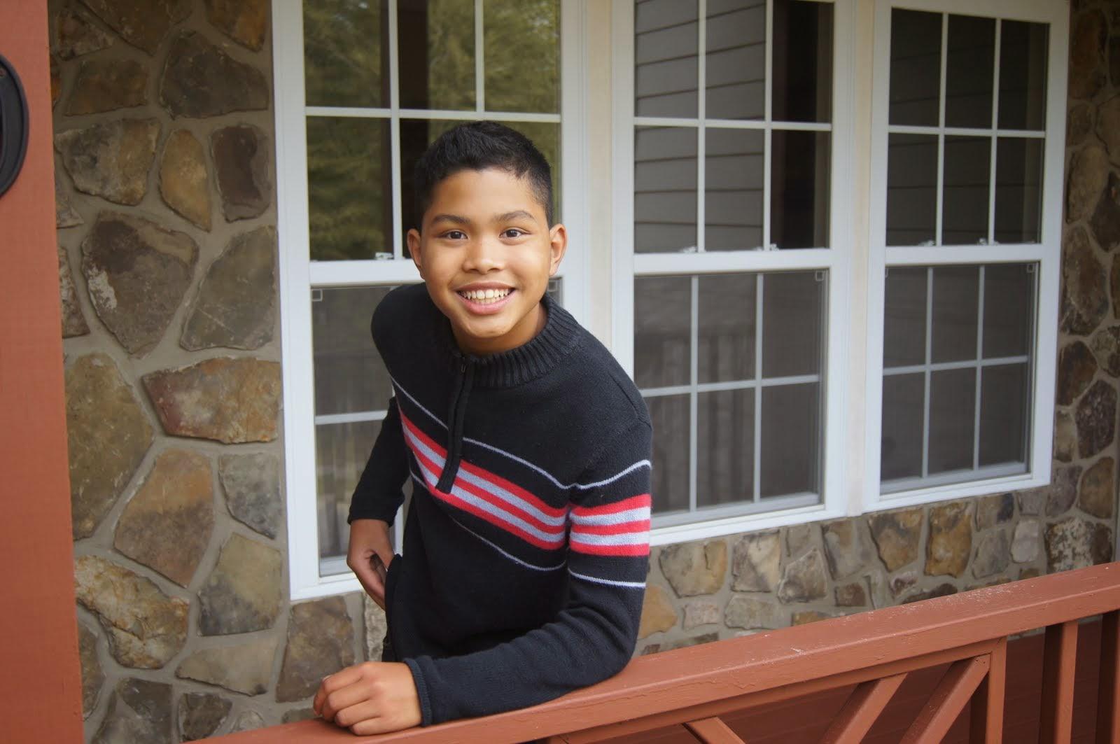 Aaron (age 14)