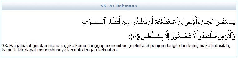 Tadarus Quran Tadarus Surah Ar Rahman Ayat 33 34