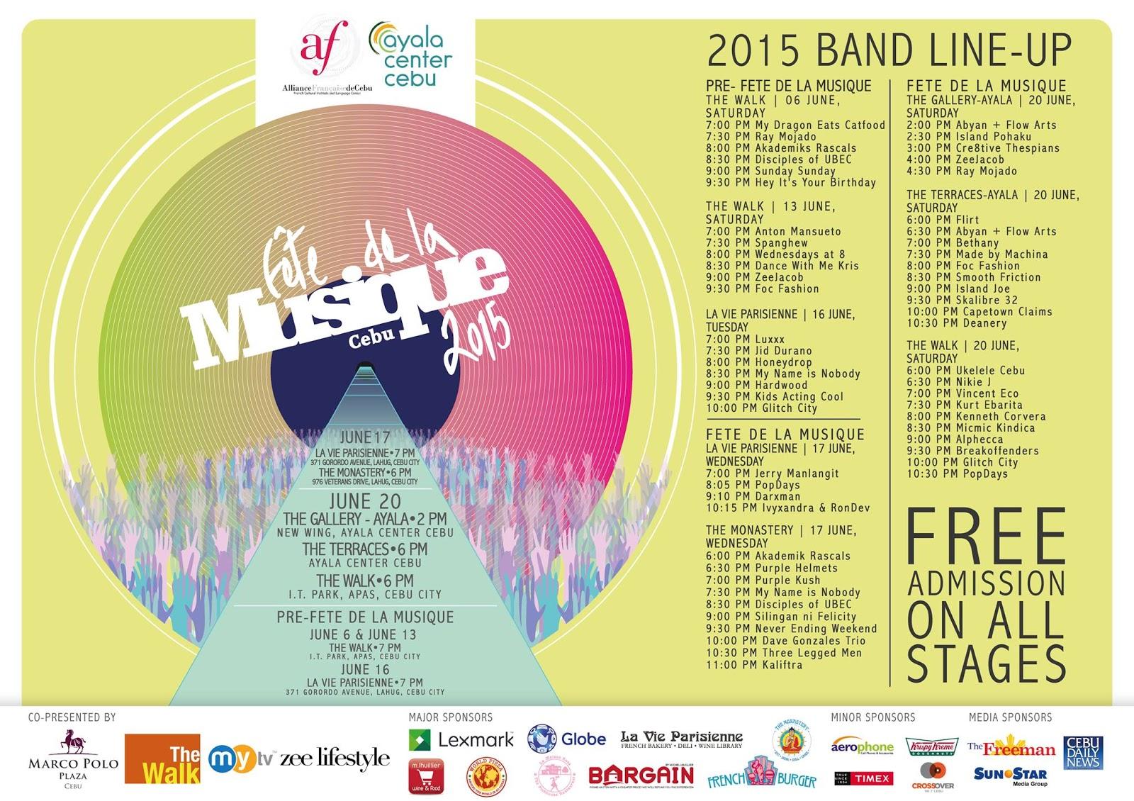 Fête de la Musique 2015-Cebu
