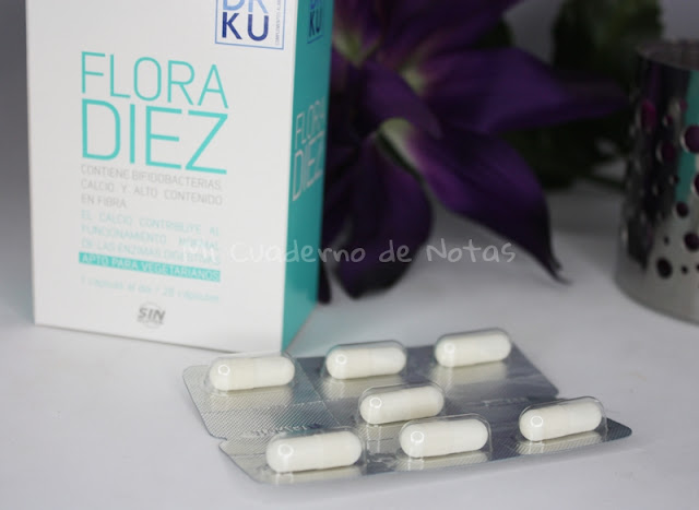 Flora Diez, mi experiencia con este probiótico