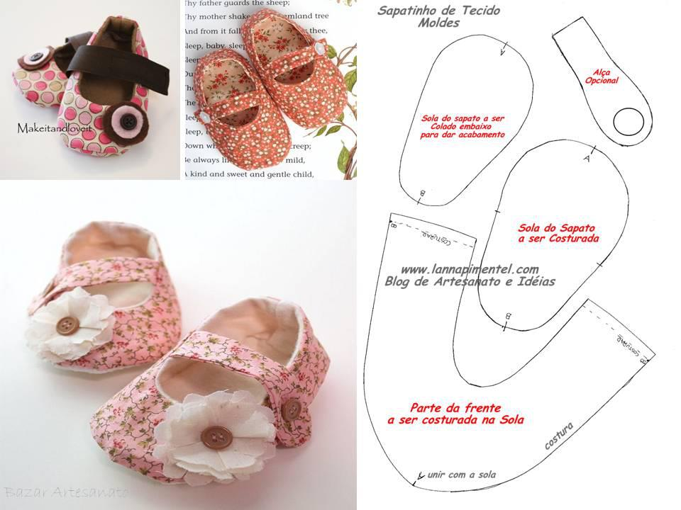Как сшить пинетки-ботиночки 18