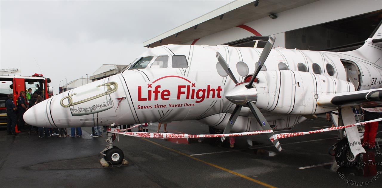 Rodney S Aviation Ramblings Life Flight Wellington Open Day