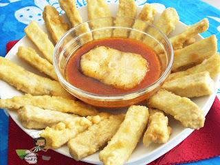 Egg Coated Nigerian Sweet Potato Fries (Potafritas), Nigerian Sweet Potato Fries ,Nigerian Sweet Potatoes