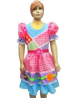 modelos de Vestidos Caipiras