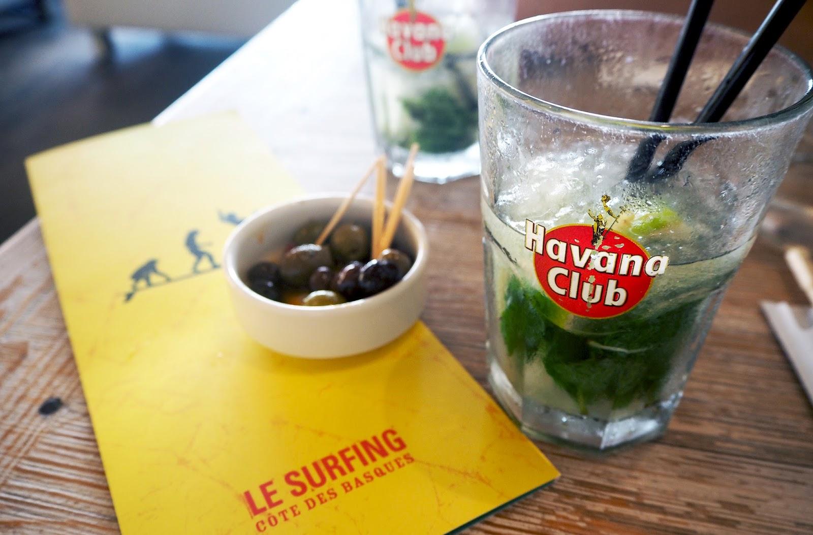 Restaurant Biarritz Le Surfing