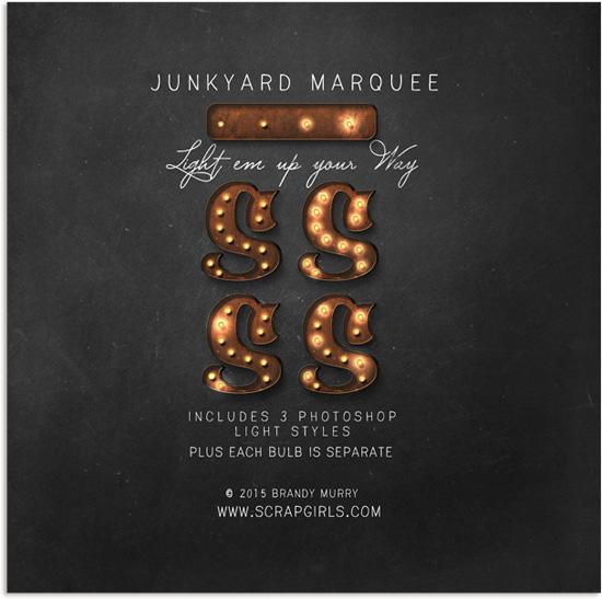 http://store.scrapgirls.com/Value-Pack-Junkyard-Marquee.html