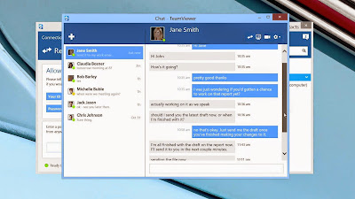 TeamViewer New Chat Feature