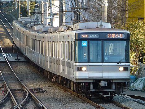 東京メトロ日比谷線 東横線直通 菊名行き1 03系LED(廃止)