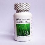 นูไลฟ์ วีทกราสและอัลฟัลฟา พลัส เพิ่ม โคเอ็นไซม์ คิวเท็น ( Wheatgrass & Alfalfa Plus) ของ Nulife