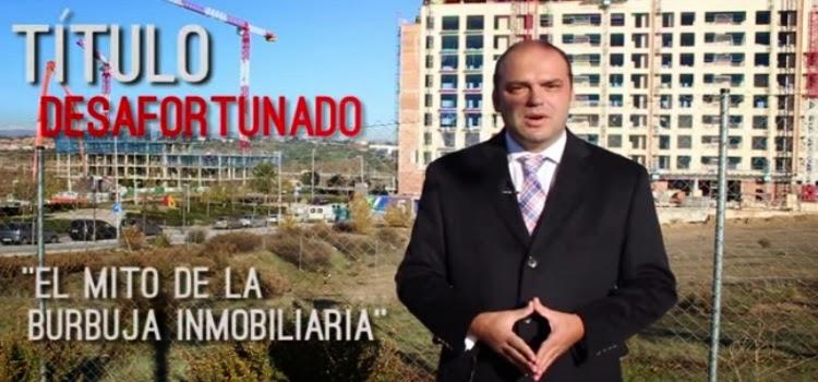 Jose.Carlos Díez el mito de burbuja inmobiliria