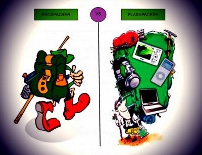 Flashpacker vs Backpacker