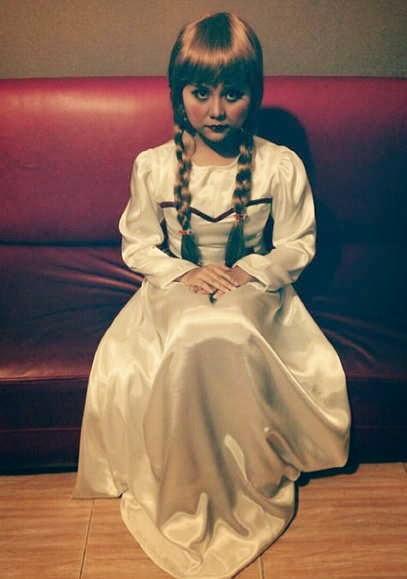 Foto Monalisa berdandan Suzana