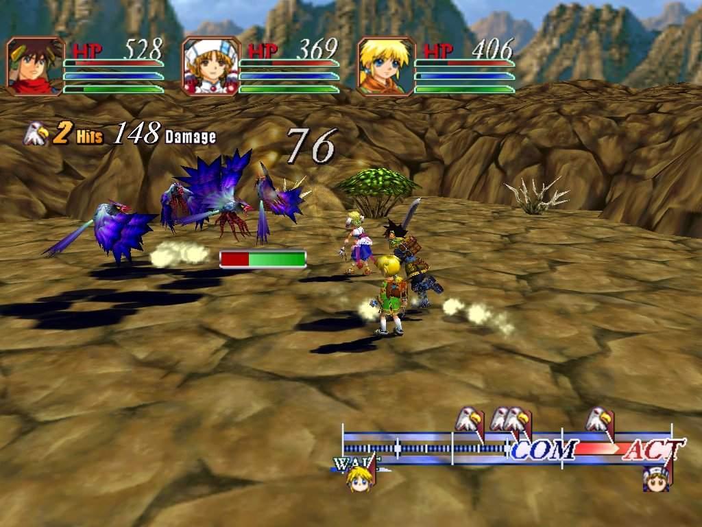 Grandia 2 (PS2)