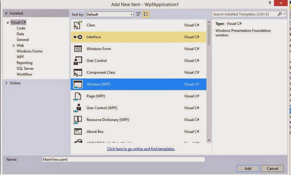 WPF Child Window with MVVM Design Pattern sample in C#, XAML for ...