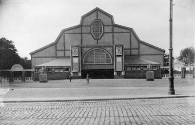 Sonderbundausstellung, Köln 1912 -  Eingangsseite der StädtischenAusstellungshalle am Aachener Tor