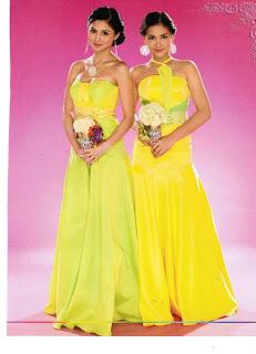 Kim Chiu, Maja Salvador Bridal Gowns