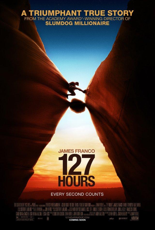 127 horas - FILME (com 6 indicações ao Oscar de 2011)