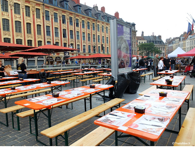 Braderie de LiIle 2014 et 2015, Brasserie moule-frites en plein-air ThatsMee.fr