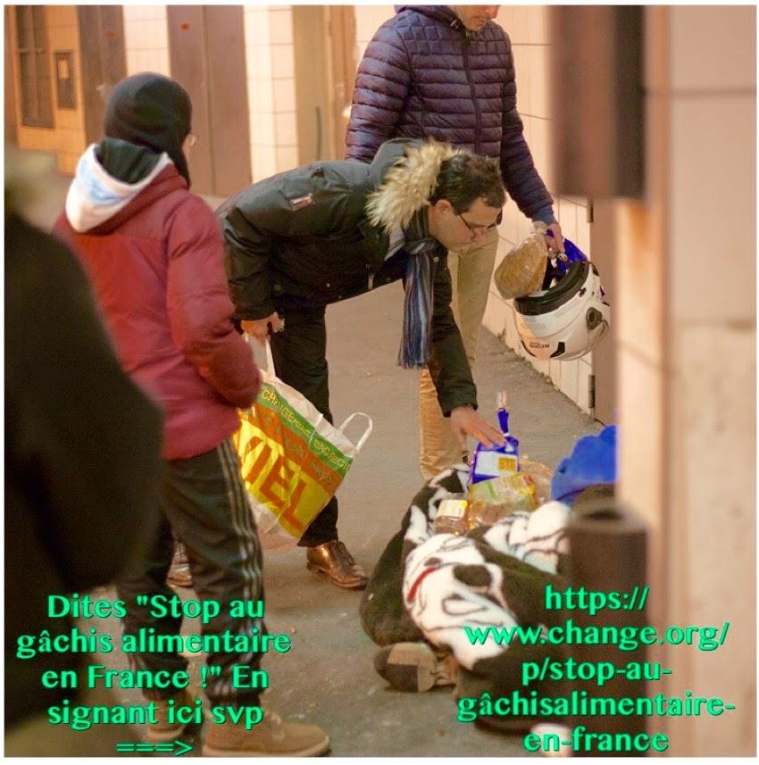 """Signez notre Pétition """"Stop au gâchis alimentaire en France !"""""""