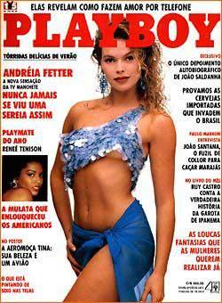 Andréia Fetter - Playboy 1990
