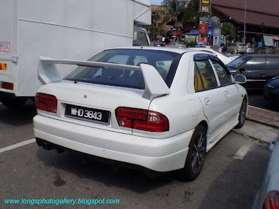 Wira Subaru Evo
