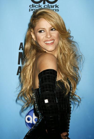 Shakira hairstyle
