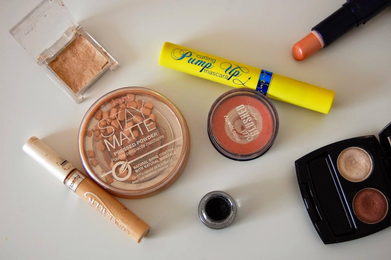 project make a dent projekt zużywania kolorówki produkty do makijażu denko jak zużyć do końca kosmetyki do makijażu?